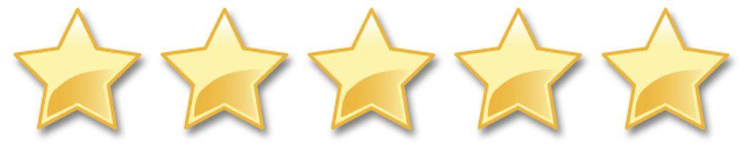 Online review stars