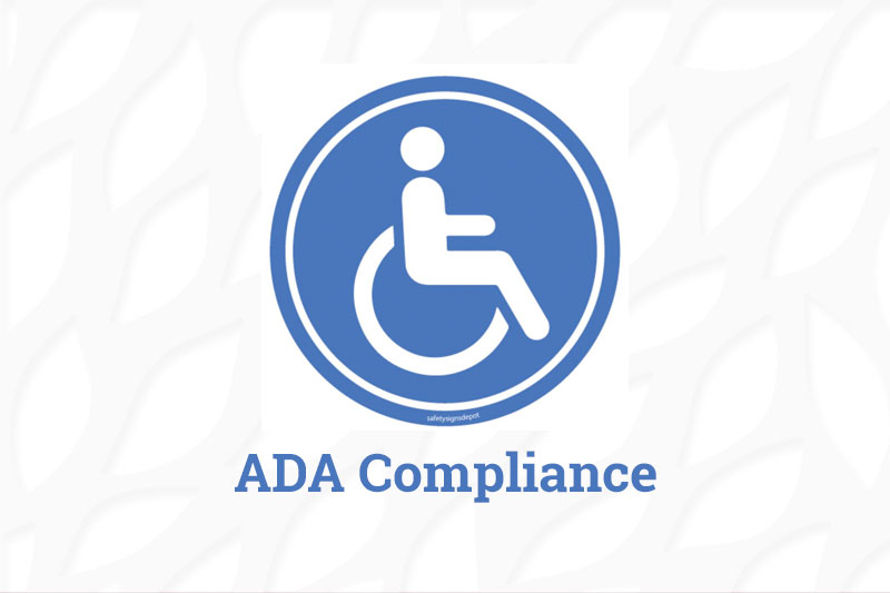 ADA Compliance graphic