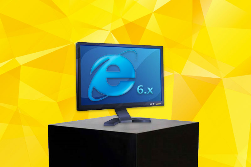 Internet Explorer 6 graphic