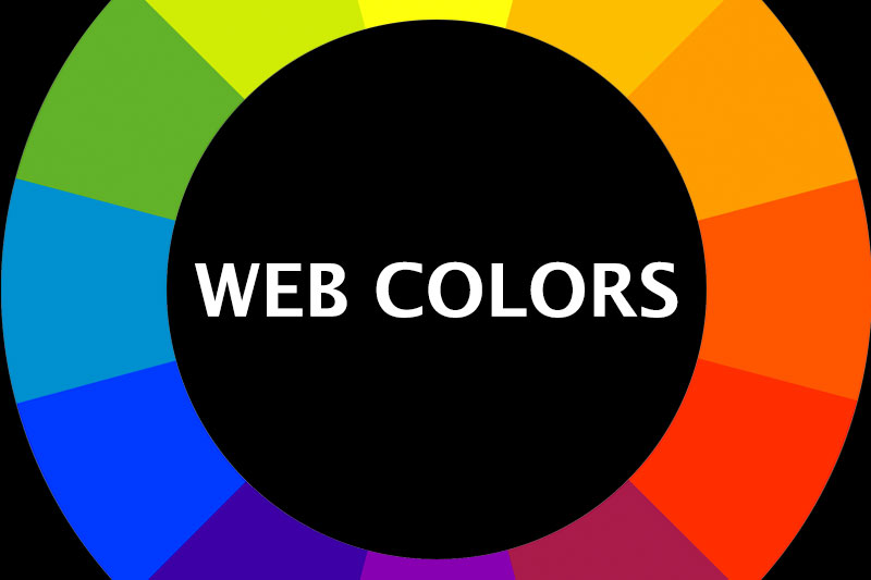 Web Colors graphic