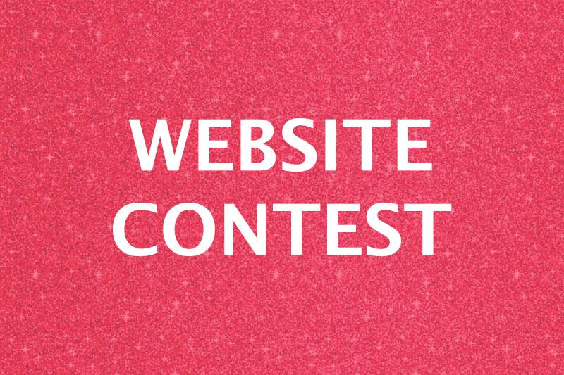 Website contest graphic