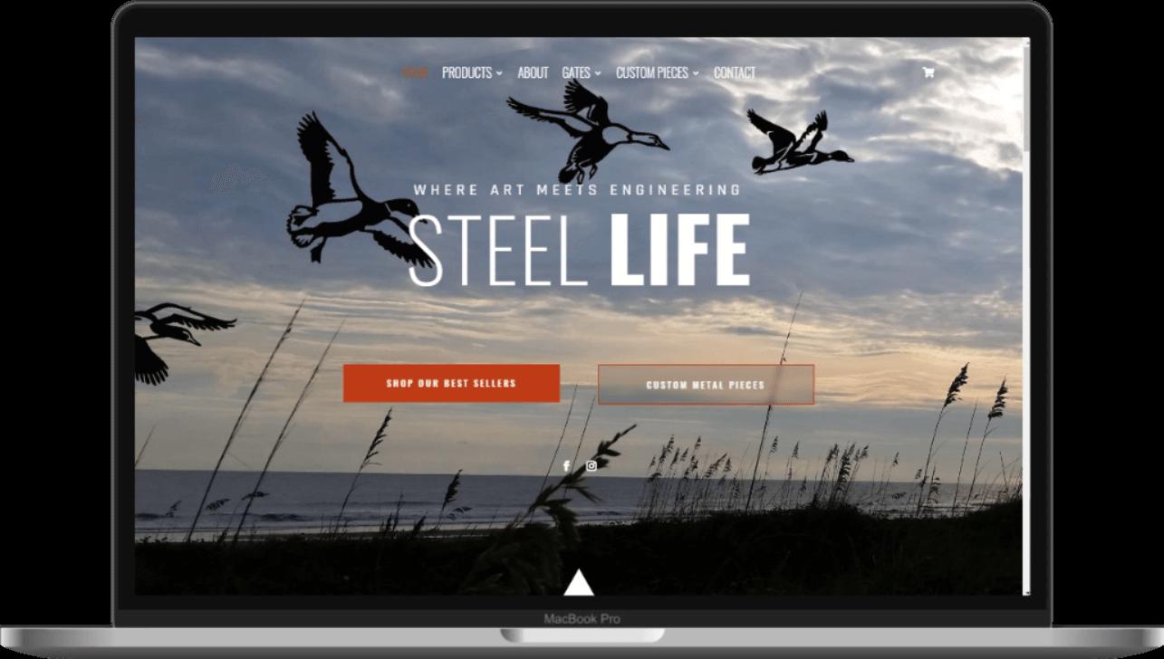 Steel Life new website