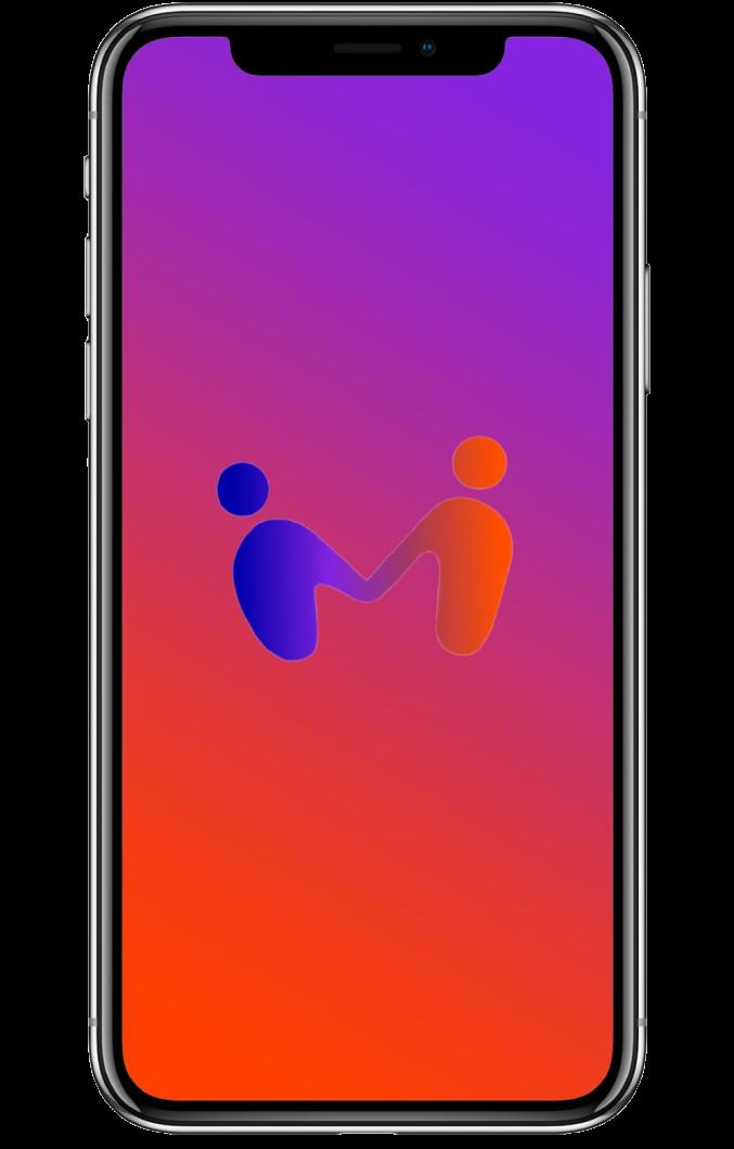 iPhone with Melia logo