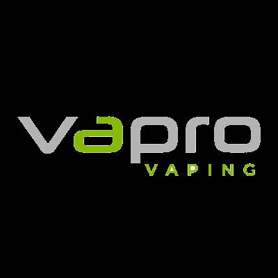Vapro vaping logo