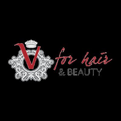 V for Hair logo