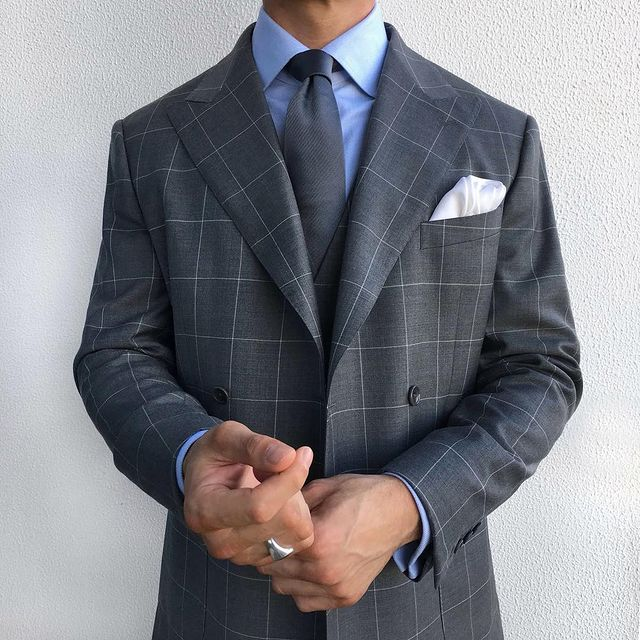 Tailor made suit
