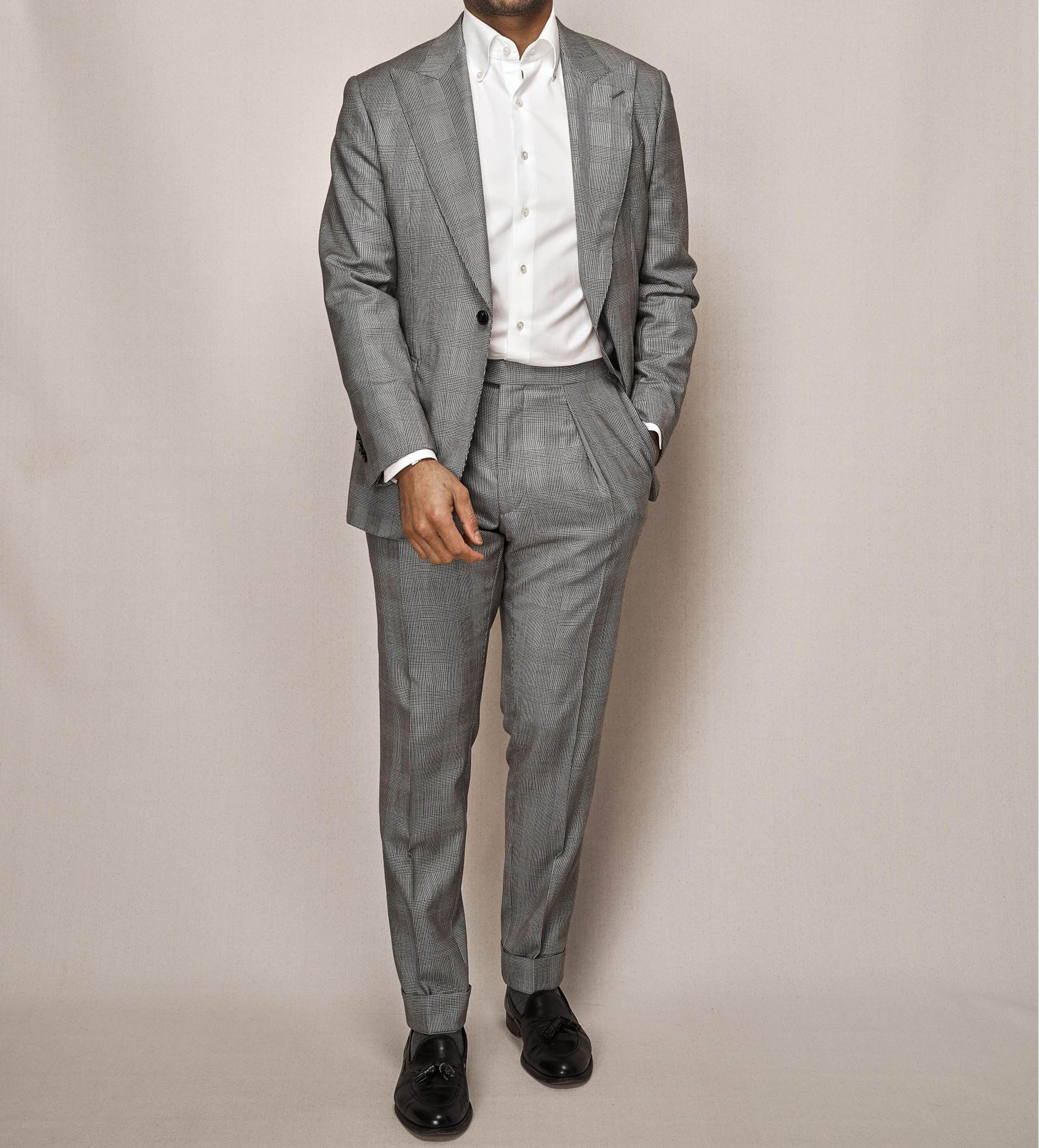 Prince of Wales Super 150s Two Piece Suit