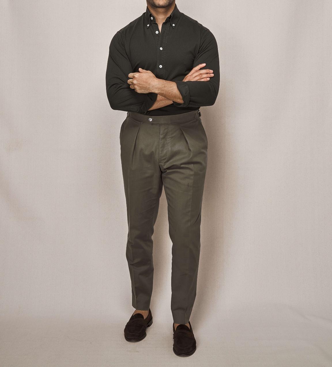 Cotton Piqué Pop Over   Cotton Stretch Trouser
