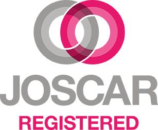 JOSCAR Registered Vertical block logo