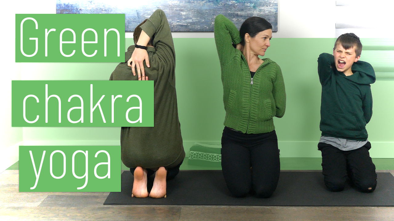 Green Chakra Yoga - Open Heart