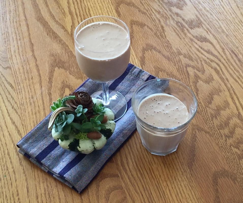 Healthier Chocolate Shake
