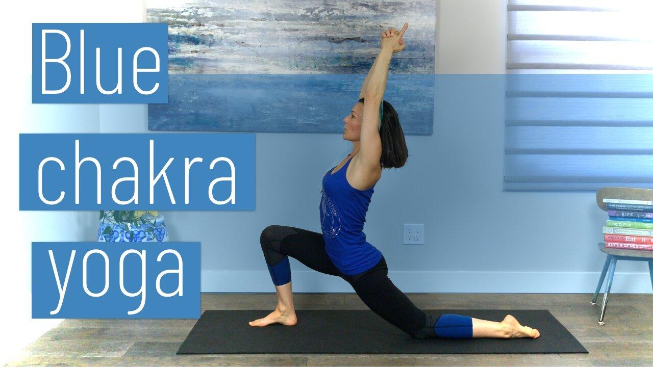 Blue Chakra Yoga