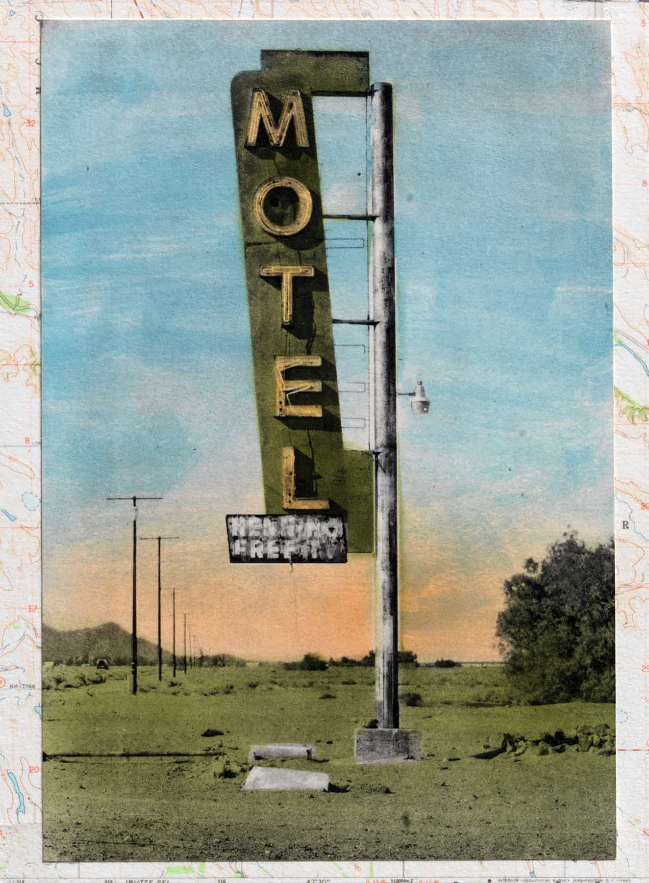 Route 66 Series—Bagdad Motel