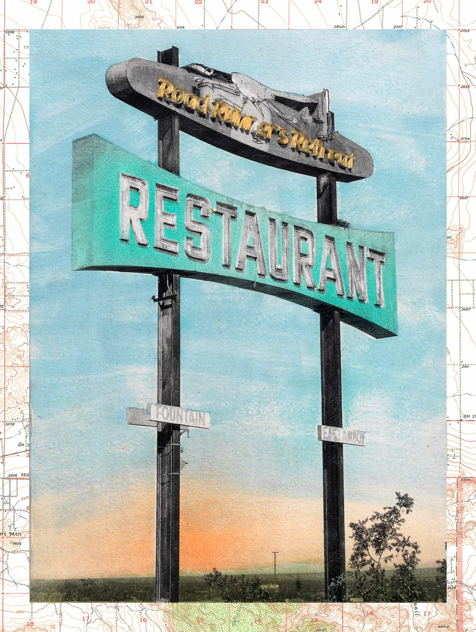 Route 66 Series—Road Runner Restaurant