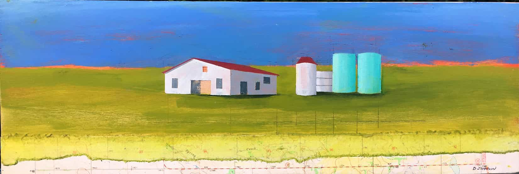 Two Silos (horizontal)