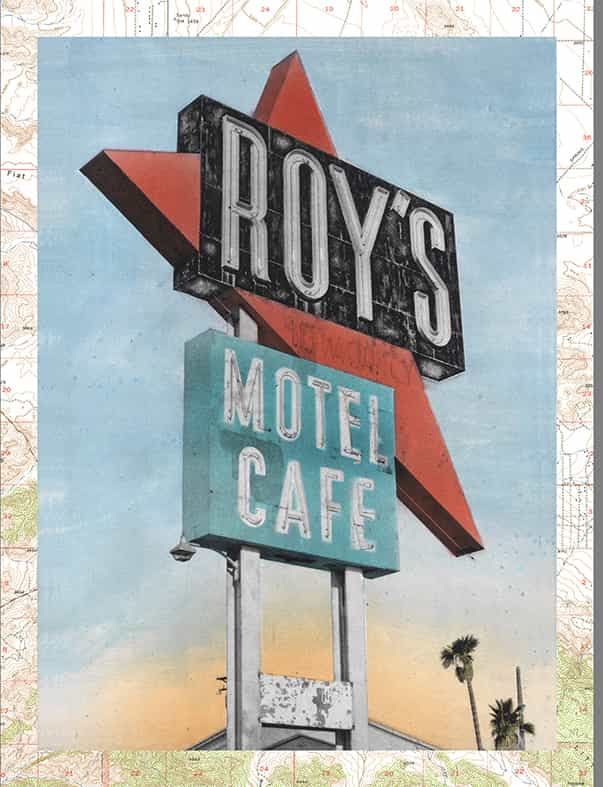 Route 66 Series—Roy's Motel and Cafe