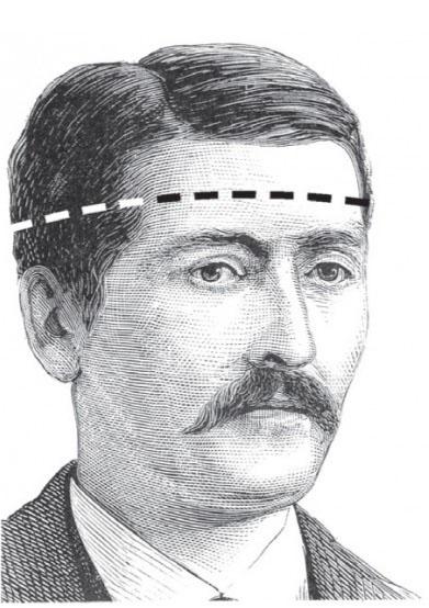 hat measurement illustration