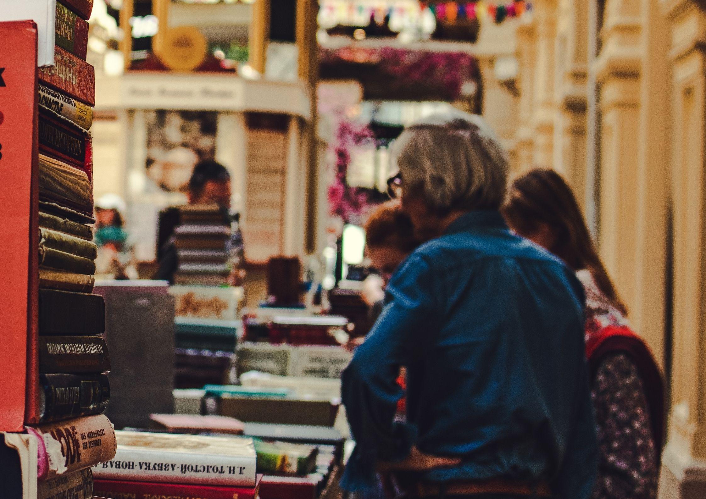 Fête des histoires en librairie