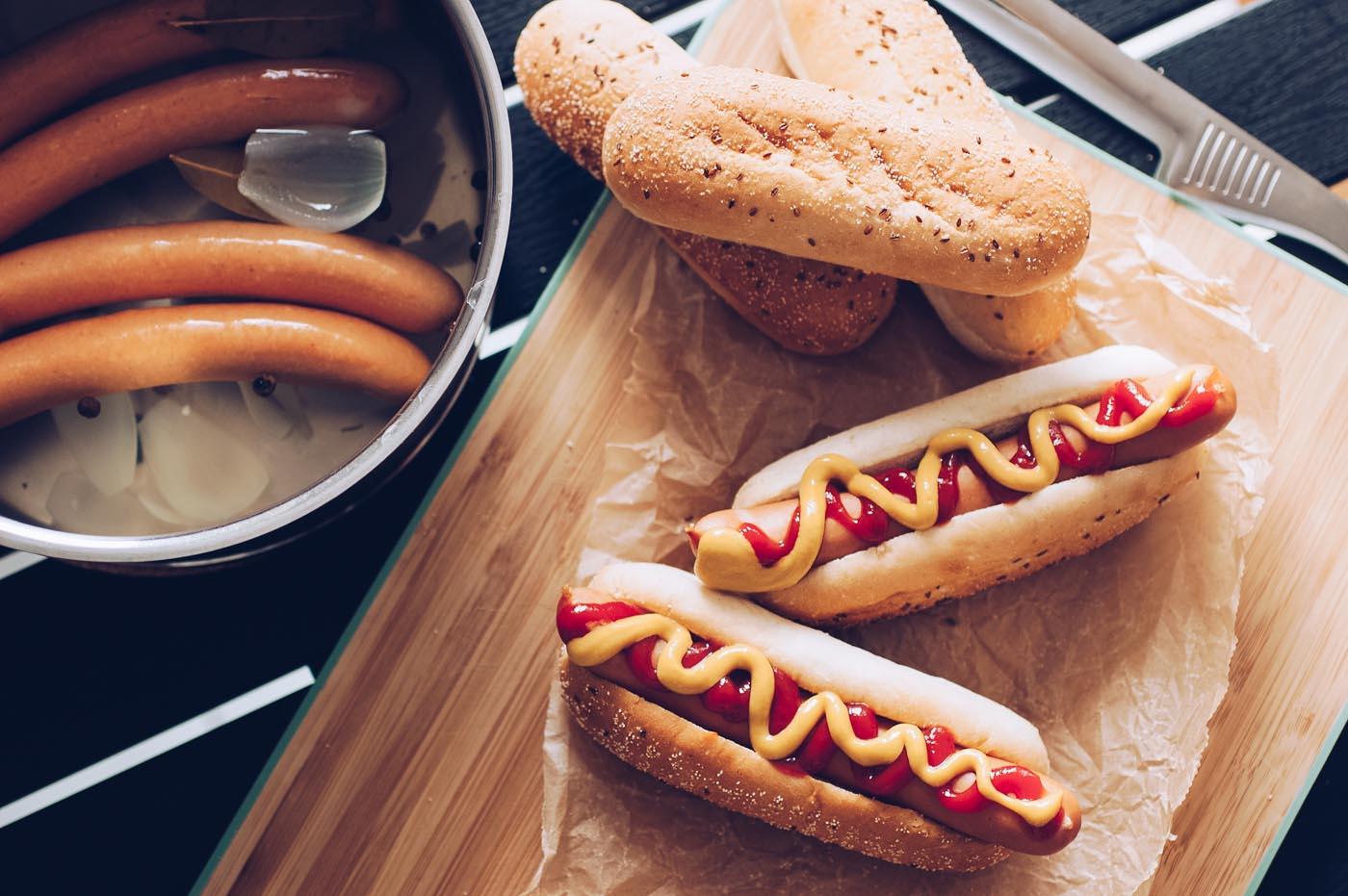 Wienerkorv, klassiskt korvkok