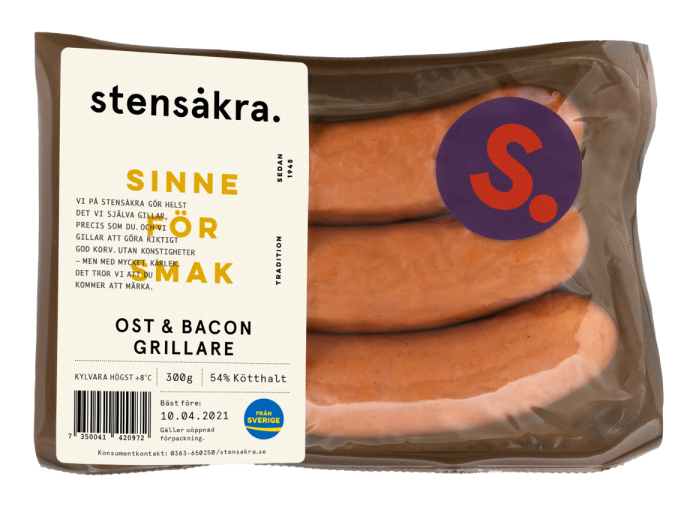 Ost & bacongrillare