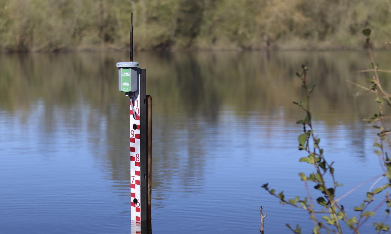 Digital vandstandssensor med regnmåler