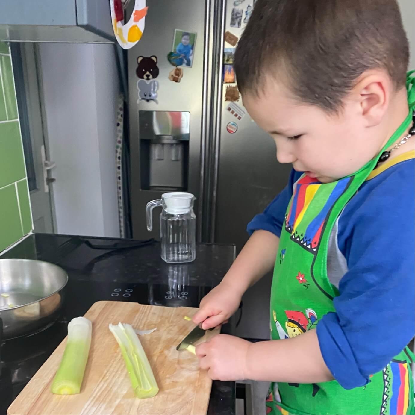 Montessori at Home - In the Kitchen