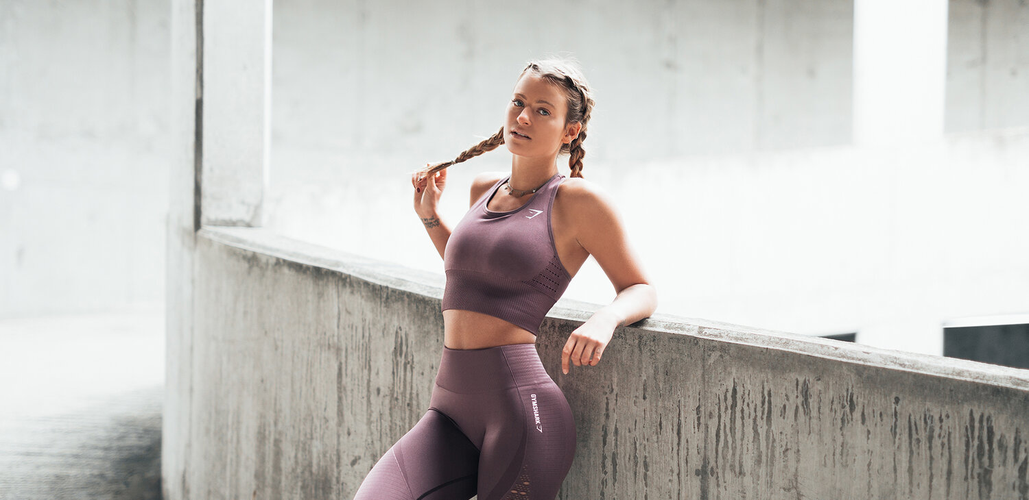 #1 As of April 2020, the most-followed athleisure brand on Instagram is Gymshark with 4.2 million followers (56% growth). Founded in 2012, Gymshark quickly learnt that the key to success is social media influencers. What's more, Gymshark is the online-only and direct-to-consumer brand, which enables the company to remain nimble and react quickly to market changes.