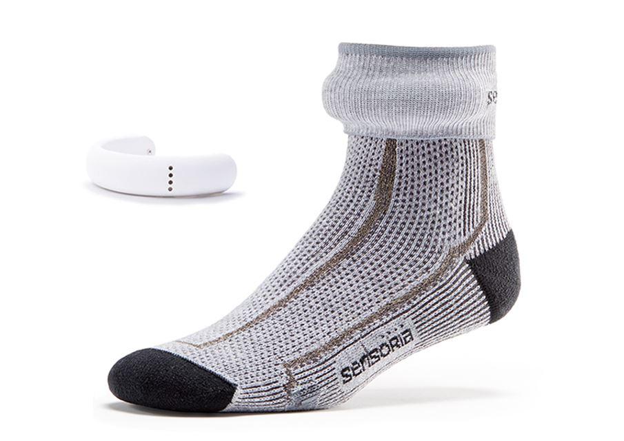 Sensoria smart sock  www.sensoriafitness.com