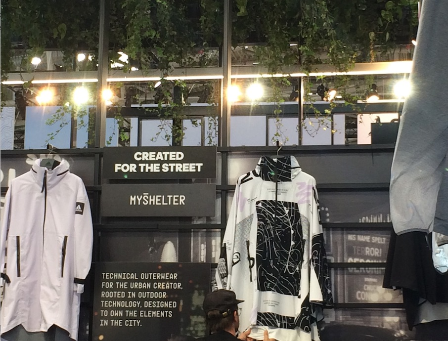 adidas 'MYSHELTER' collection at OutDoor by ISPO 2019