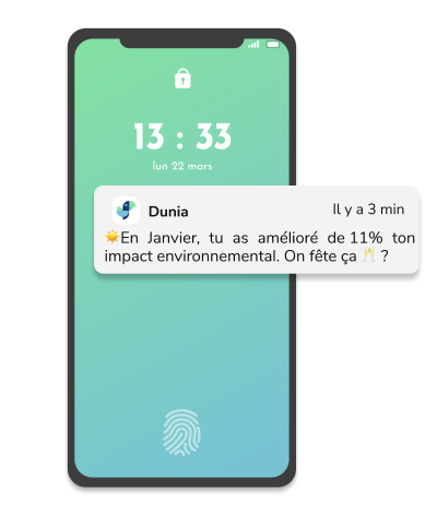 Notification sur Dunia