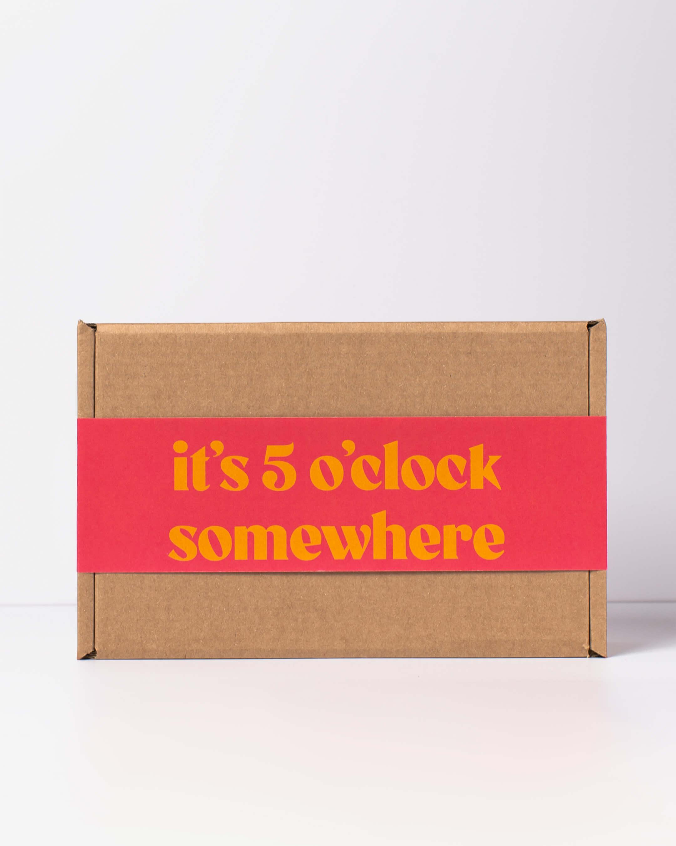 ta. alcohol free spirit & mixer box packaging