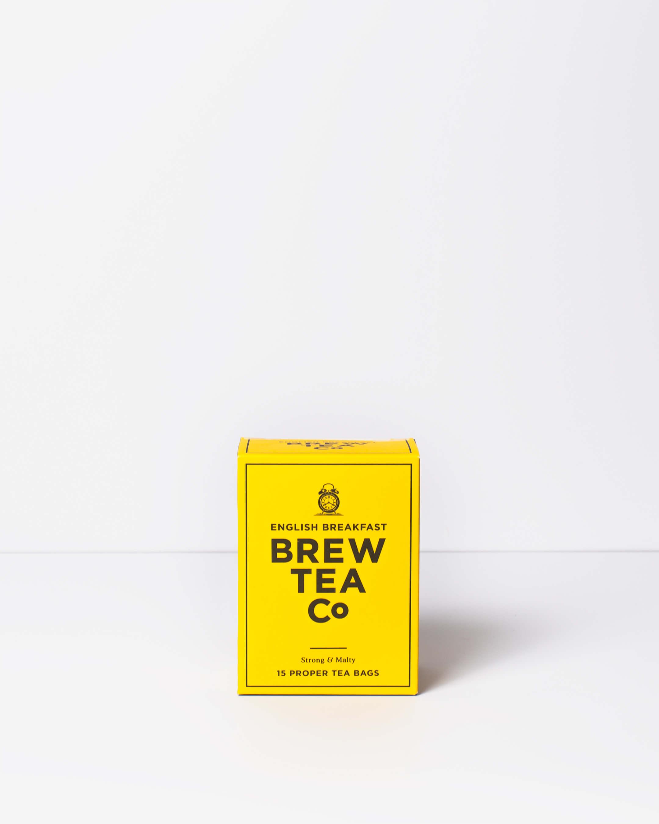 Brew Tea Co. breakfast tea box