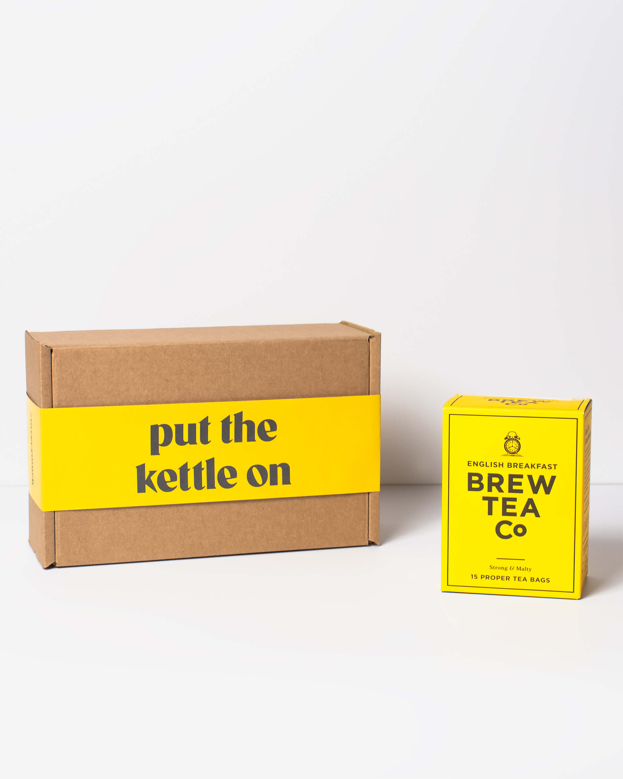 Brew Tea Co. breakfast tea with ta. box