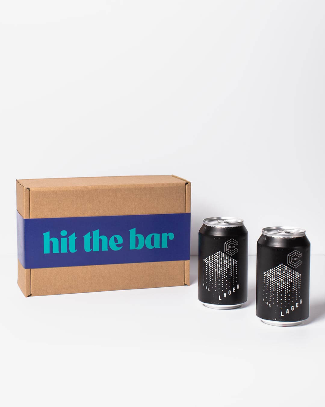 Crate Brewery Larger cans & ta. box