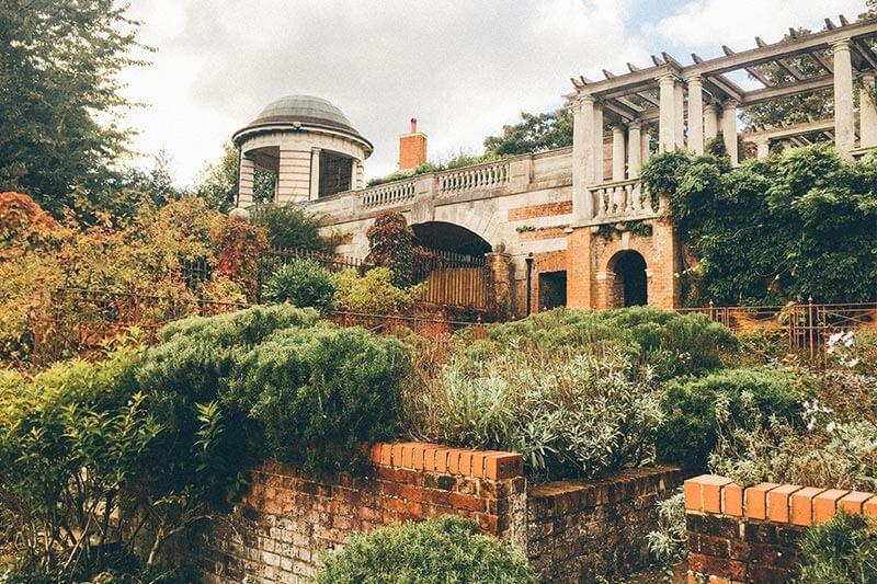 The Pergola at Hill Garden