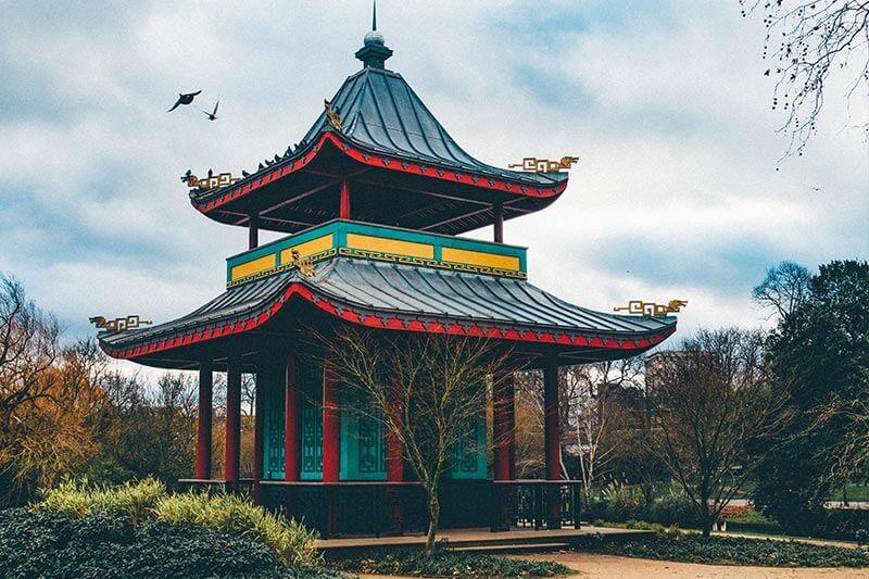 The pagoda at Victoria Park