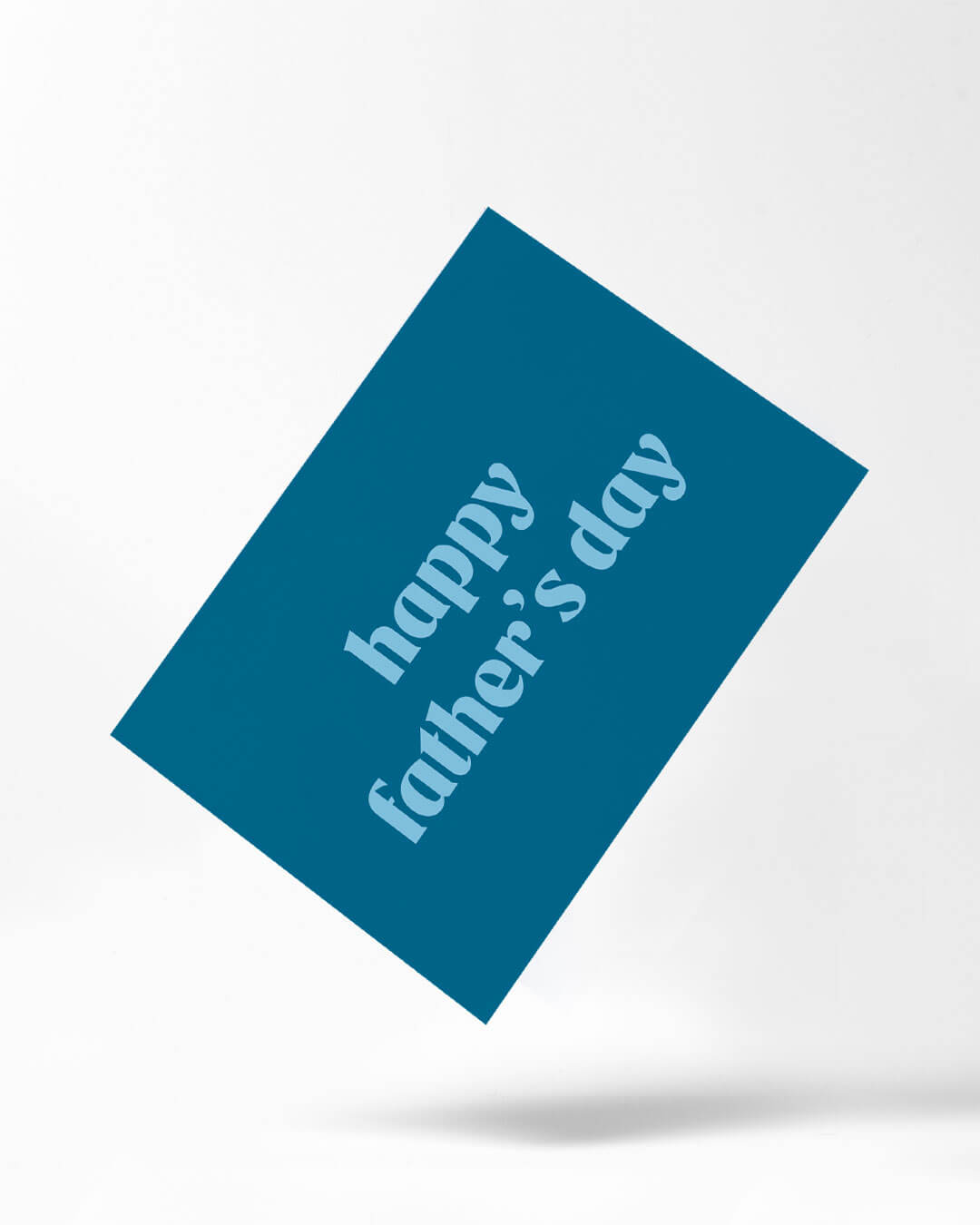 father's day personalised postcard