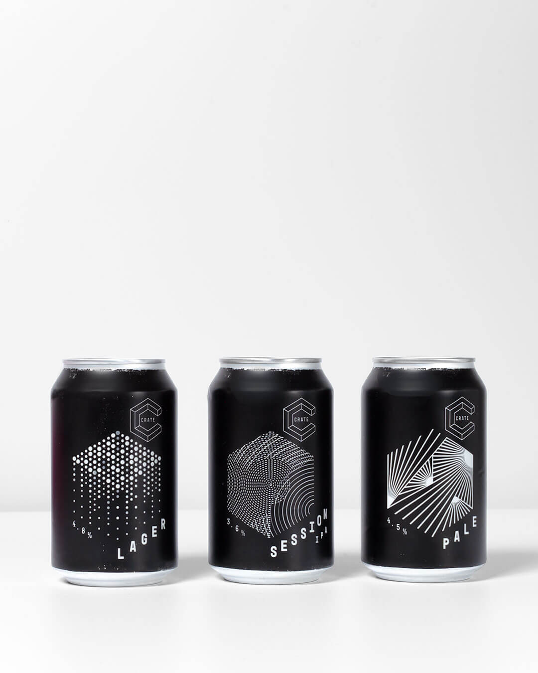 Crate Brewery Cans