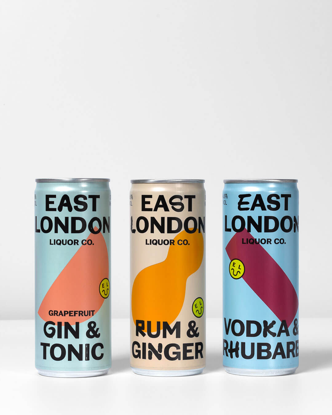 East London Liquor Co Cans