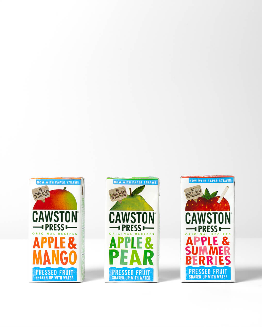 Cawston's real fruit juice boxes