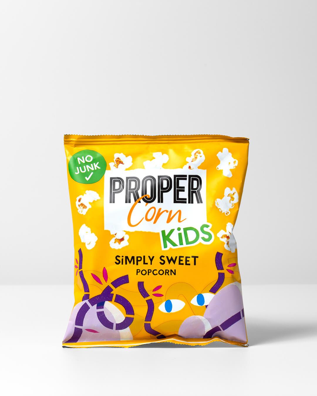 Kids Propercorn popcorn