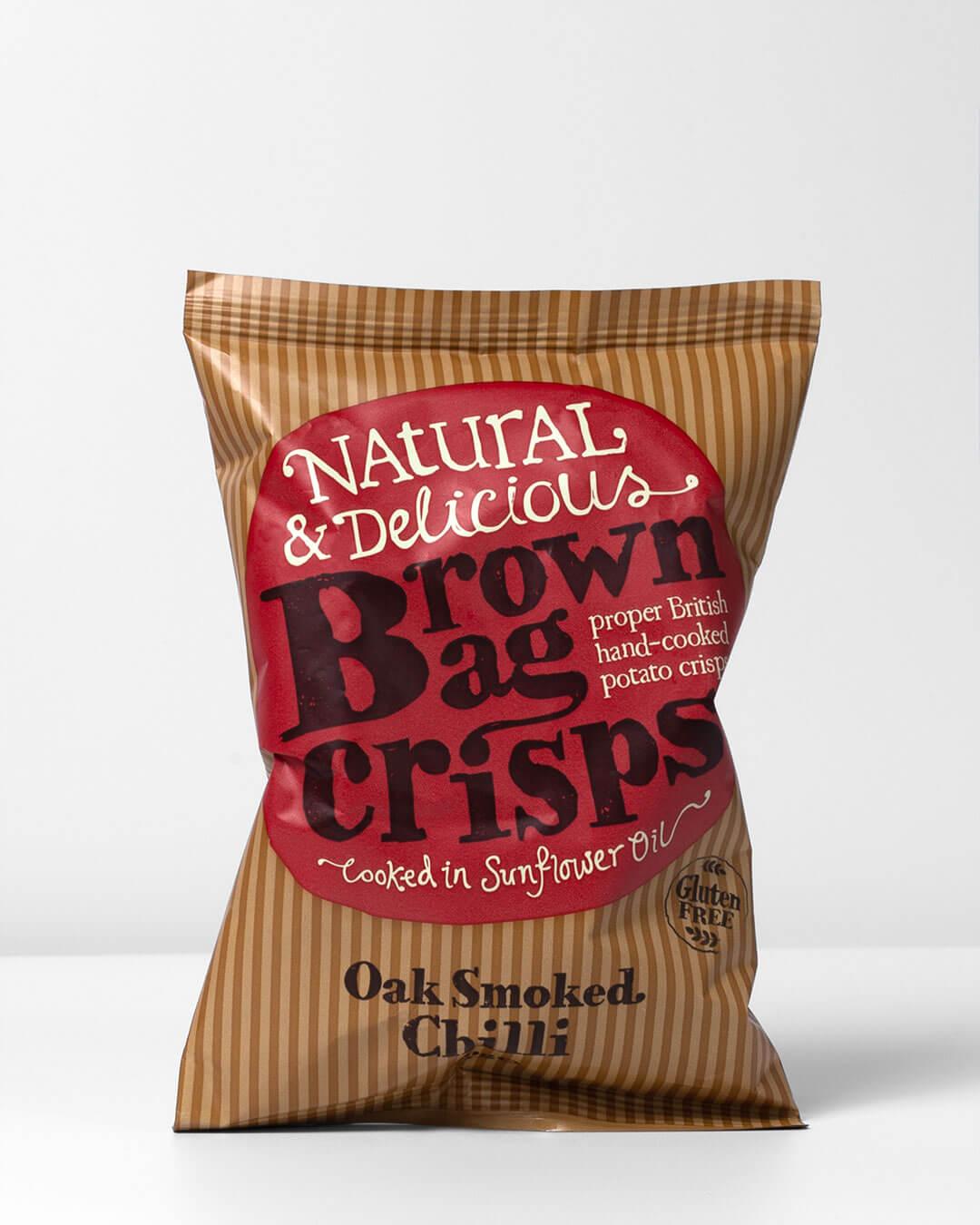 Brown Bag Sweet Chilli Crisps