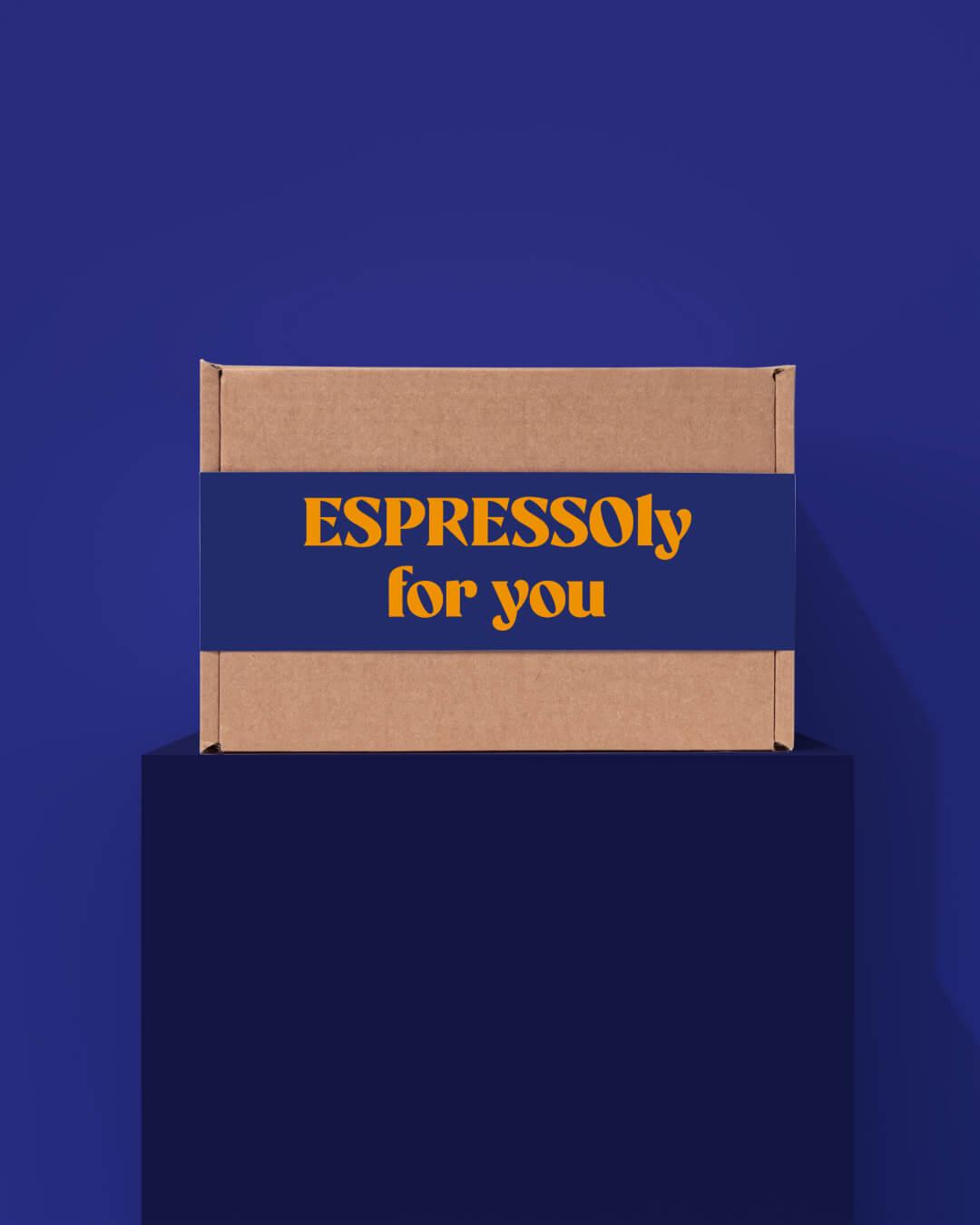 ta. coffee box packaging