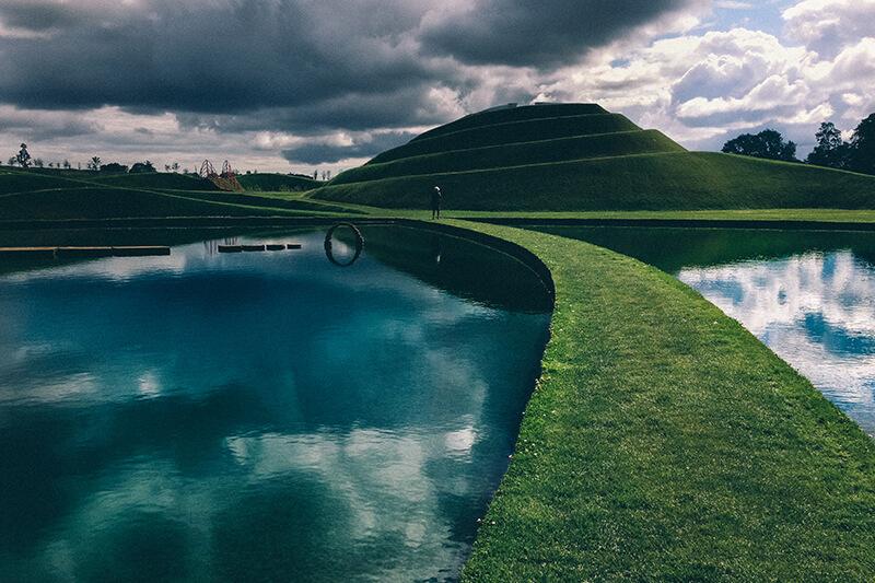 Life Mounds at Jupiter Artland Scotland