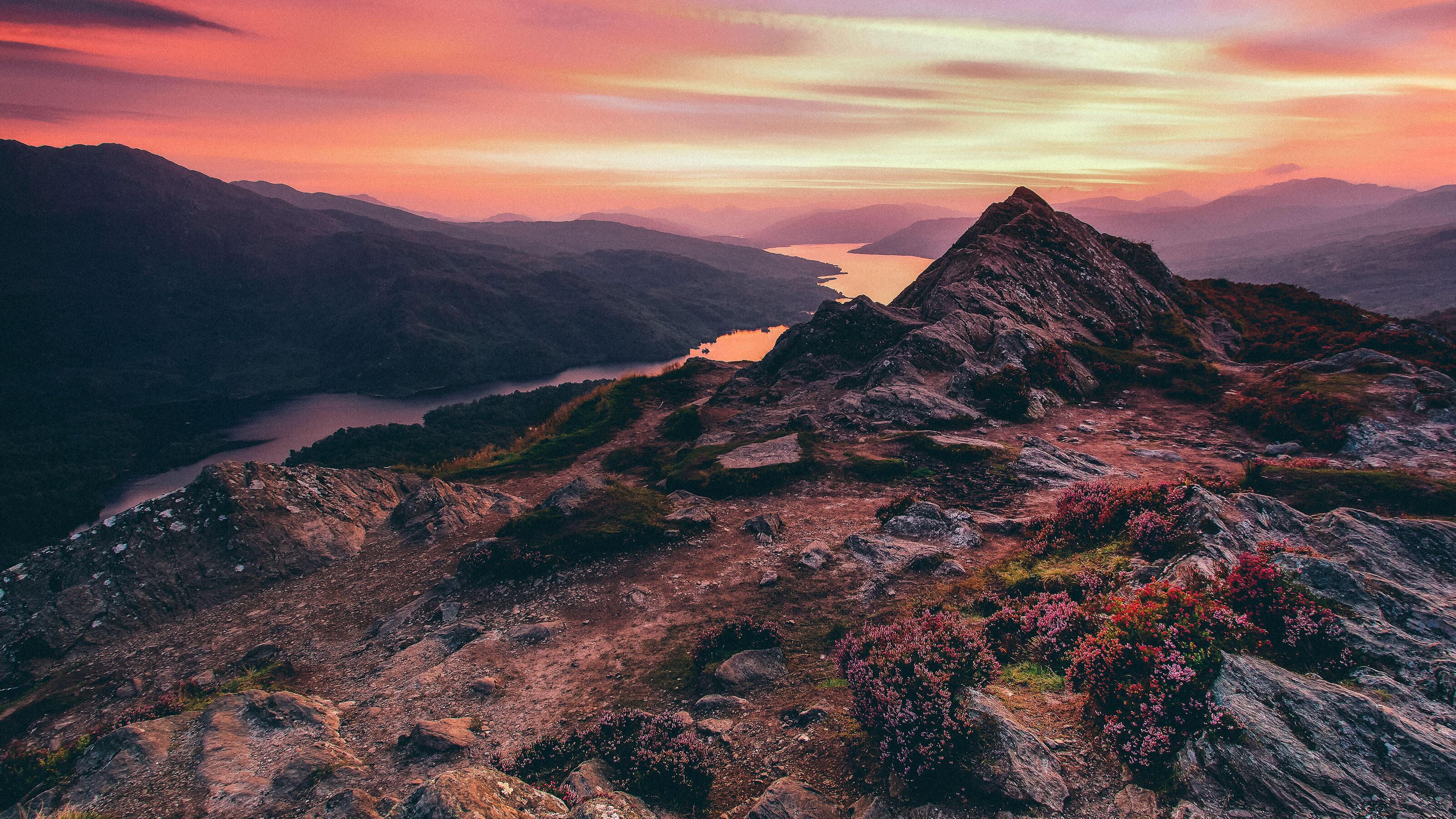 Views over Loch Katrine