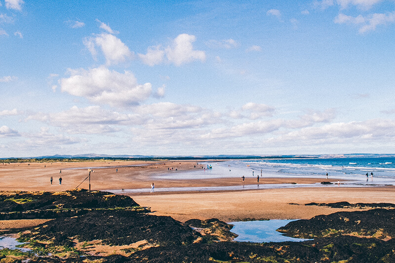 St Andrew's West Sands Beach