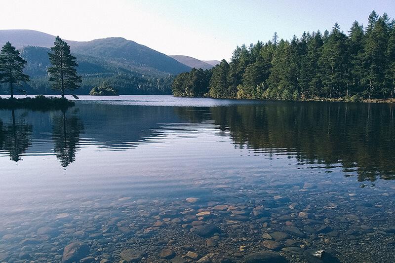 Loch an Ellein, Scotland