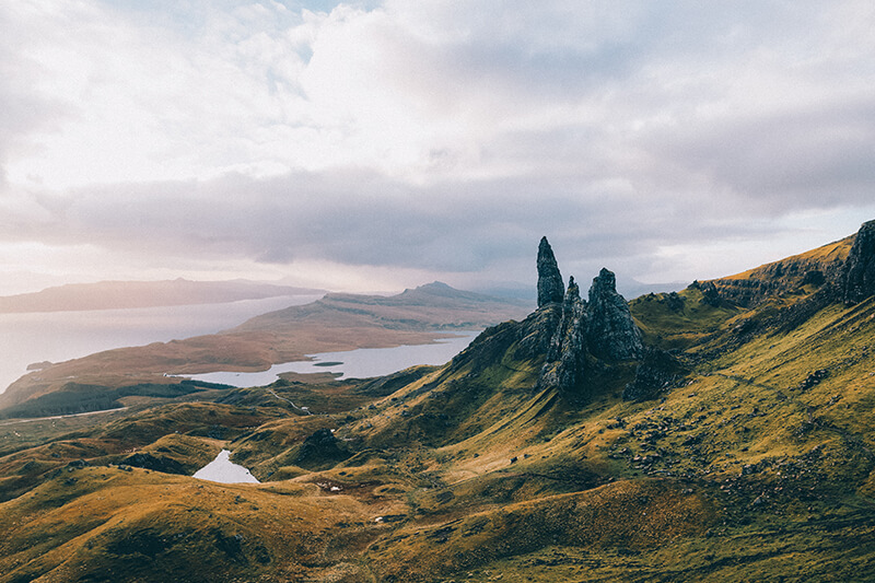 Landscape of Isle of Skye