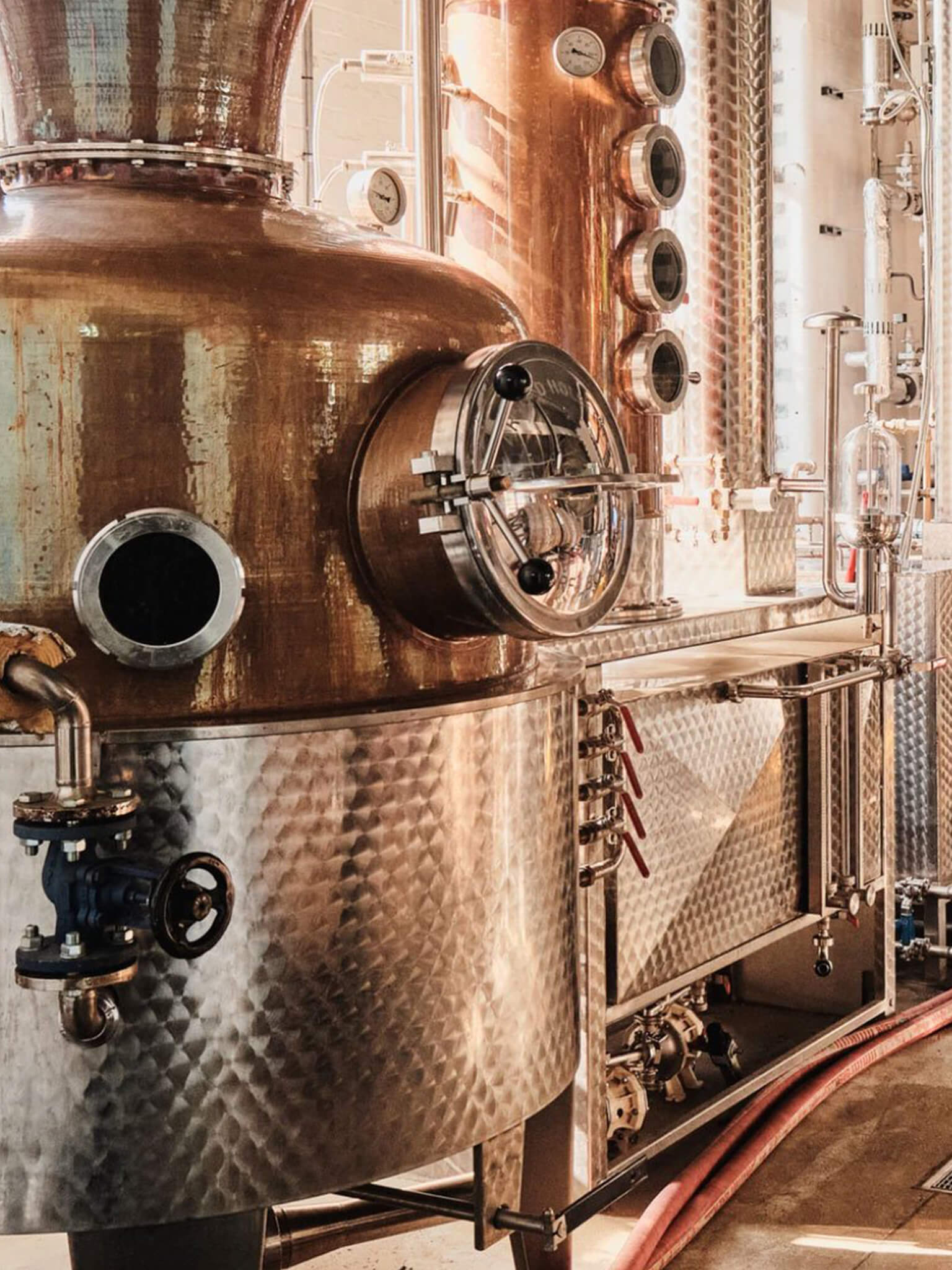Inside East London Liquors Distillery