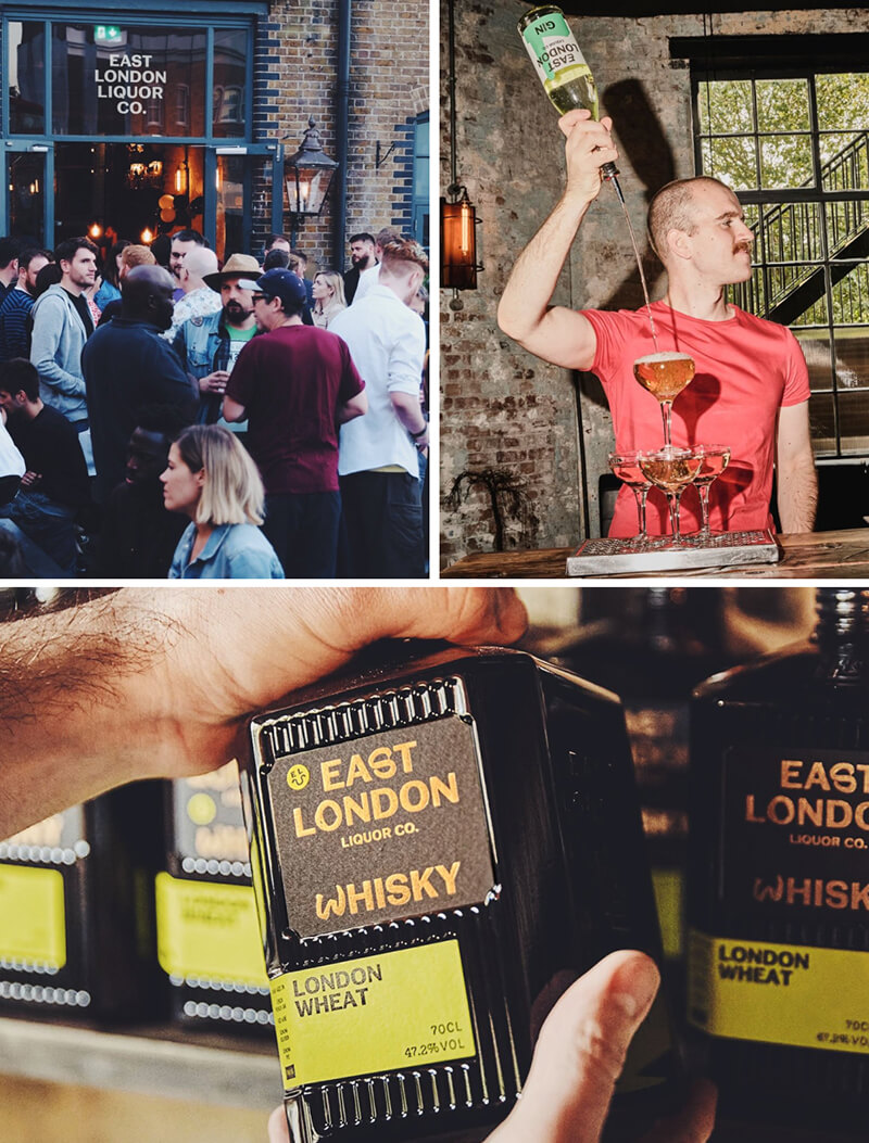 Images from East London Liquor Company